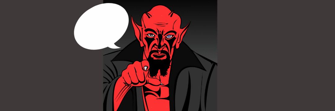 O que você pode aprender de uma conversa com o Diabo.