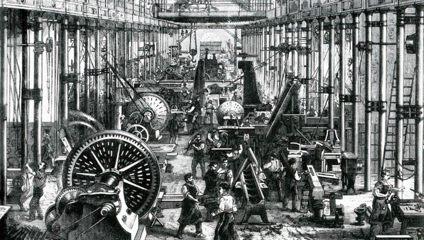 Somos herdeiros da revolução industrial