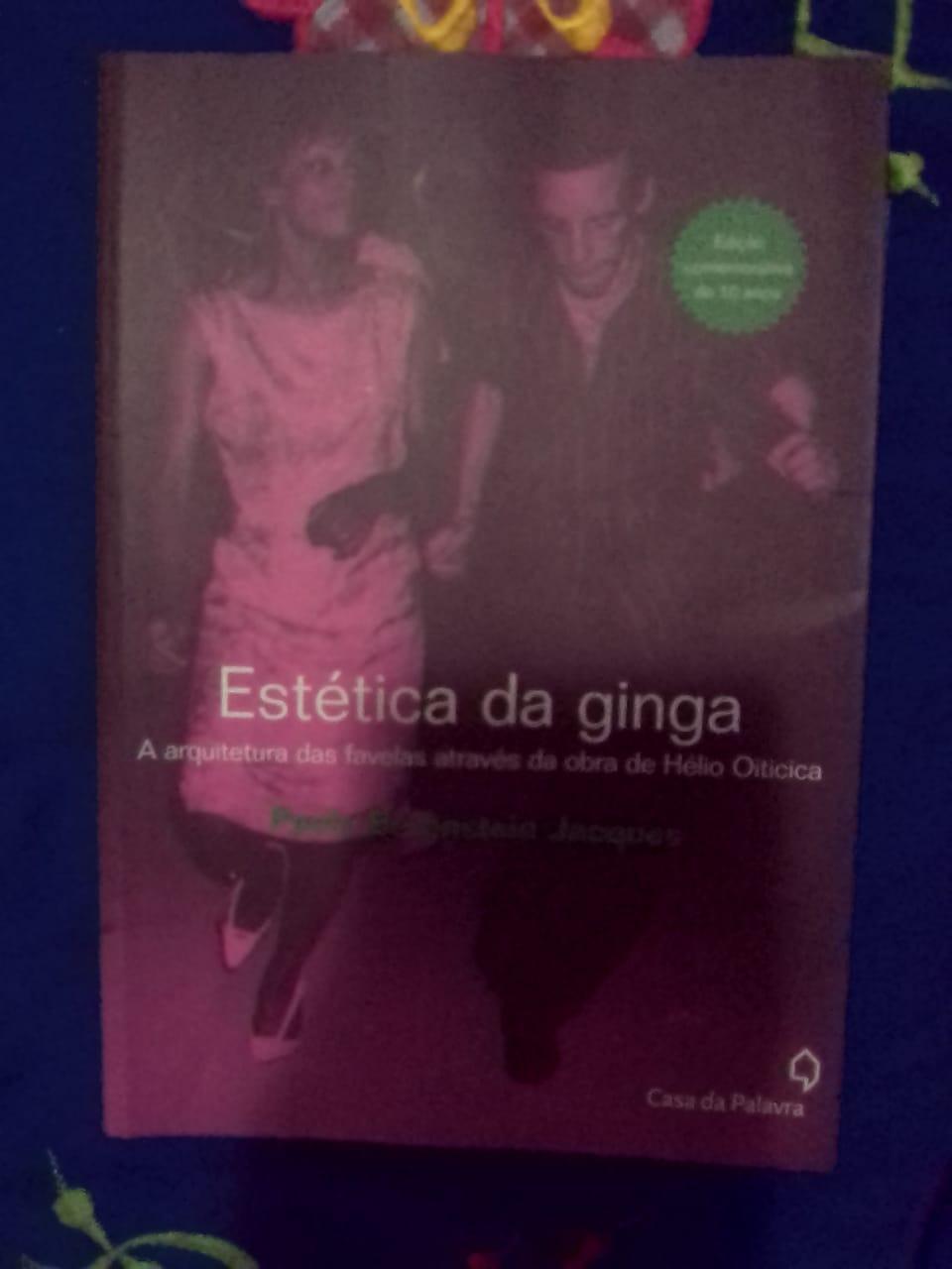 RESENHA DE LIVRO : A ESTÉTICA DA GINGA