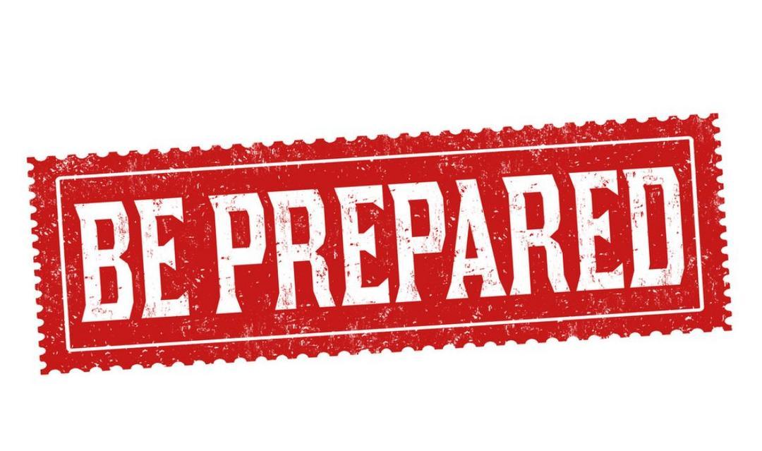 O que você está esperando para se preparar?