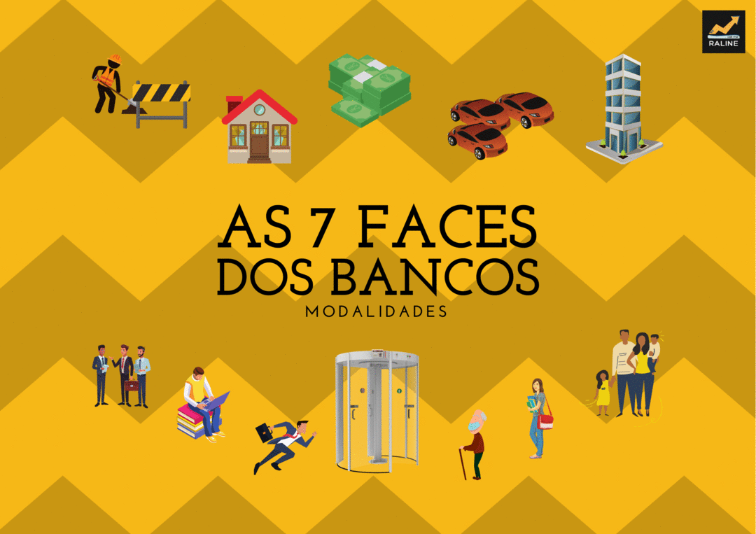 AS 7 FACES DOS BANCOS | MODALIDADES