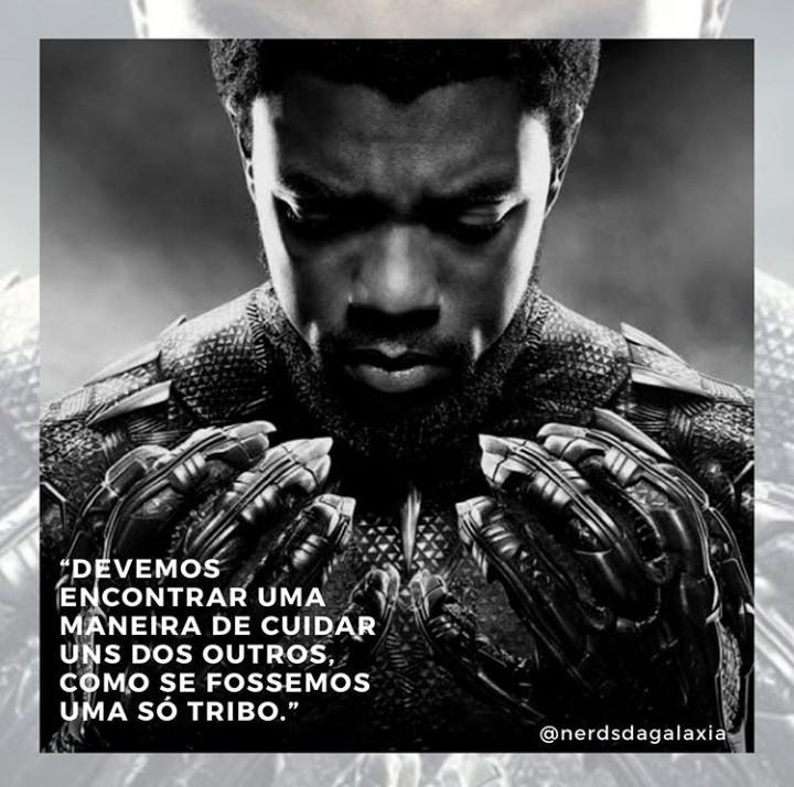 Ao nosso eterno Pantera Negra