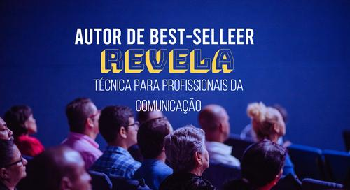 Autor de best-seller REVELA técnica para profissionais da comunicação