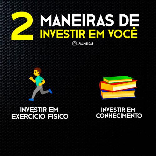 2 Maneiras de investir em você