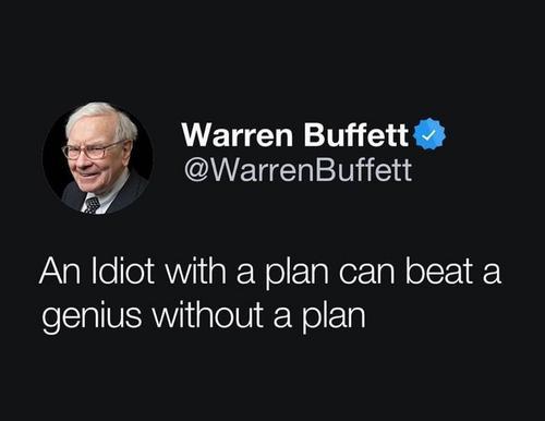 Você não precisa de mais inteligência, você precisa de um plano.