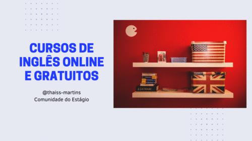 10 cursos de inglês online para você aprender gratuitamente
