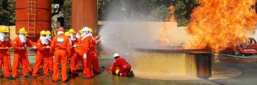 Treinamento em Combate a Incêndio